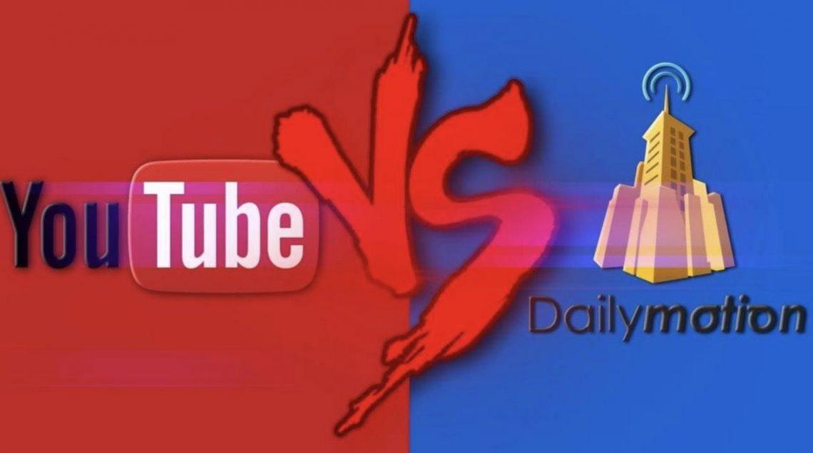 youtube vs daily motion
